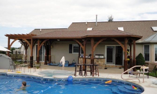 Pool House Plans Duplex Garage Architecture