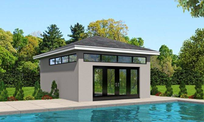 Pool House Plans Plus
