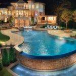 Pool Photograph Cool Fancy Swimming Design