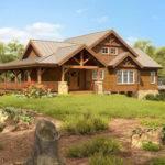 Poplarpeak Timber Frame Cabin Plans Woodhouse