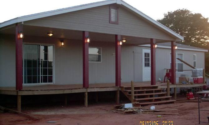Porch Designs Mobile Homes Home Floor Plans Home Plans Blueprints 44567