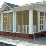 Porch Ideas Screen Porches Screened Cost Home Design