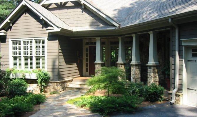 Porch Landscape Designs Bedroom Ranch Your Design Anmar