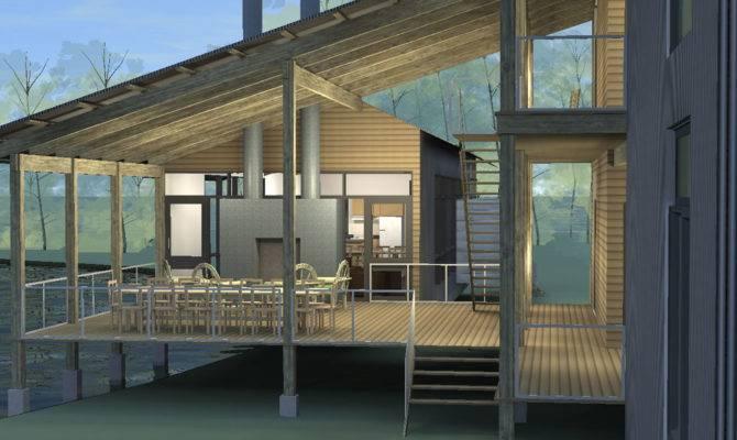 Porches Lake Flato Porch House
