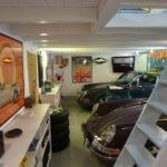 Porsche Man Garage Cave Baby Drive Car