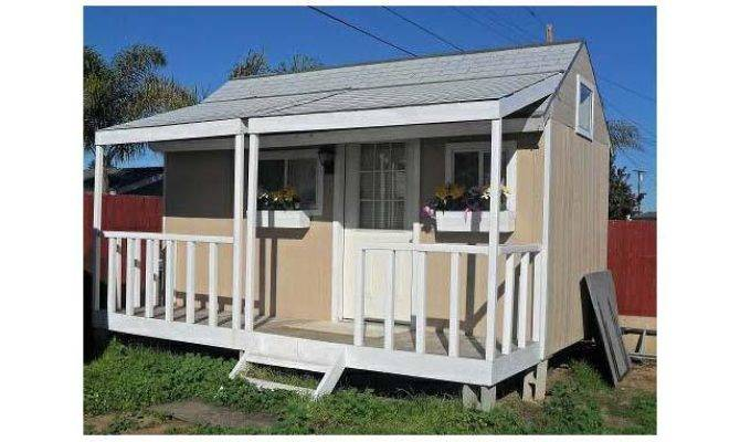 Portable Tiny House Detachable Porch Mobile Homes Club