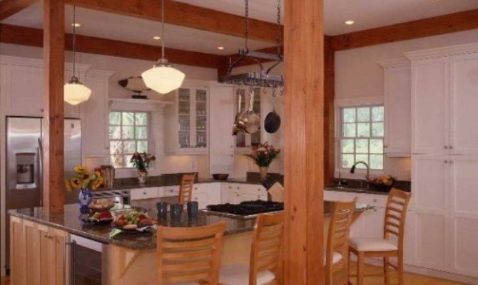 Post Beam Kitchens Floor Plans Work Yankee