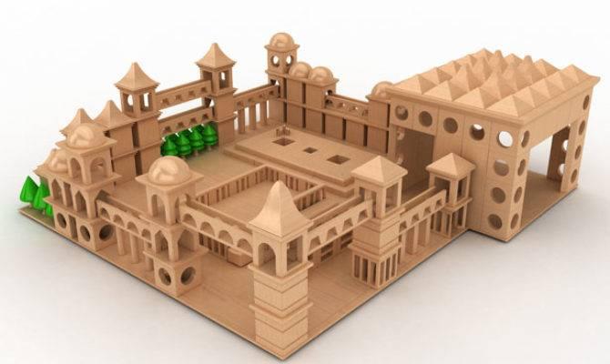 Power Tower Wooden Toy Design Designnobis Tuvie