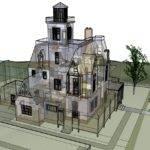 Practical Magic House Blueprints Owens Designs