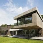 Prairie Shaped Modern House Plans Plan