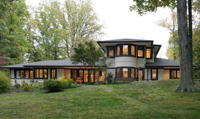 Prairie Style Annapolis Maryland Oldhouses