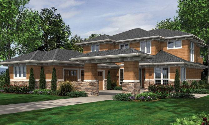 Prairie Style Home Plans Designs