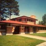 Prairie Style House Frank Lloyd Wright