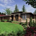 Prairie Style House Plan Beds Baths