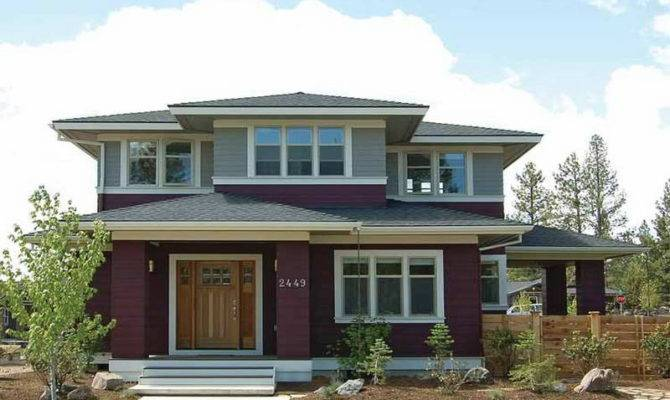 Prairie Style House Plans Number
