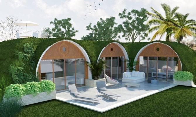 Pre Fab Hobbit Home Eco Friendly Can Built