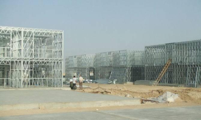 Prefab Apartment Buildings Steel Frame Low Storey Building