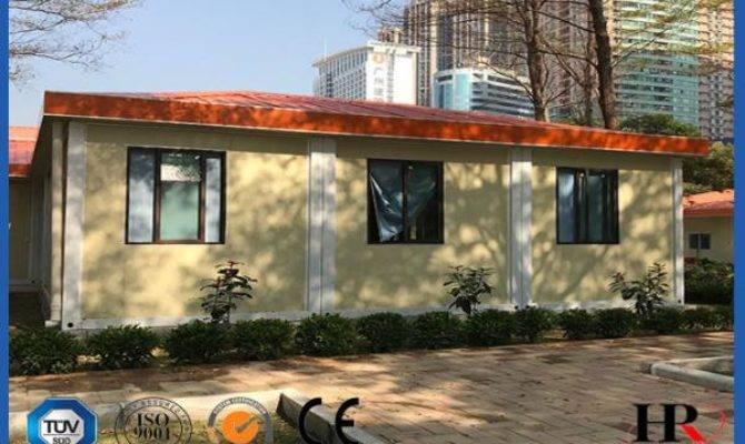 Prefabricated Container House Light Steel Villa Modular