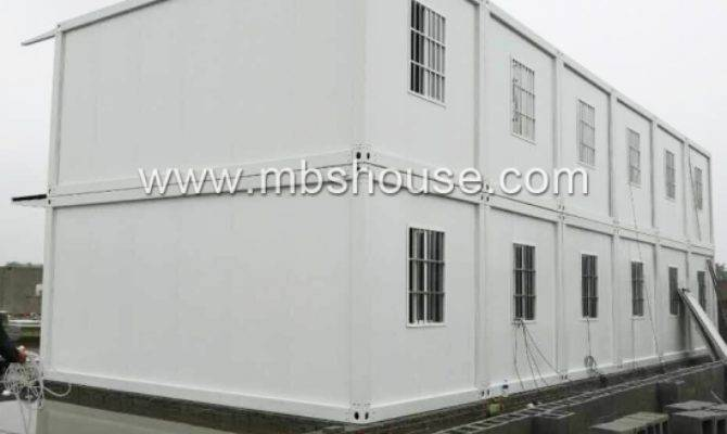 Prefabricated Detachable Container House Office Shop