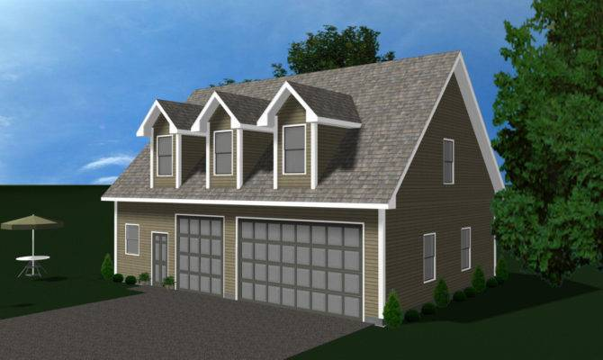 Prefabricated Home Kit Prefab Garage Living Quarters