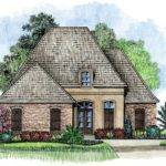 Prestidge Country French Home Plans Louisiana House