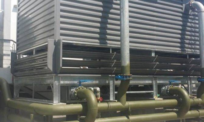 Prevent Cooling Tower Supply Lines Freezing