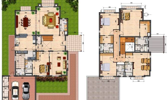 Prime Villas Floor Plans Semi Detached Bedrooms