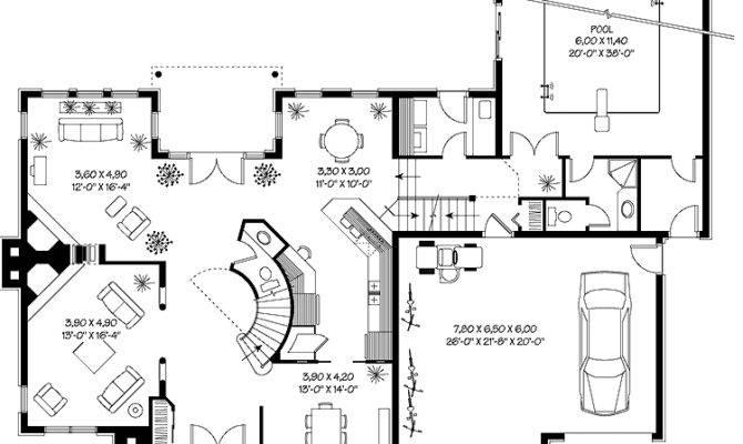 Print Floor Plan All Plans House Indoor Swimming
