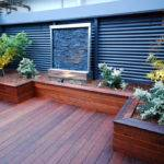 Private Courtyard Decking Supreme Green Landscaping Flickr