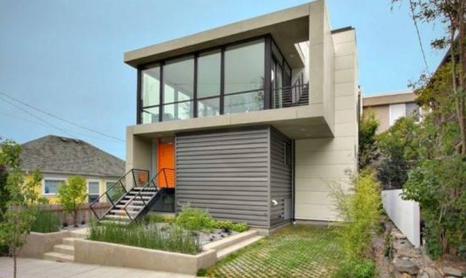 Process Building House Modern Design Step Build