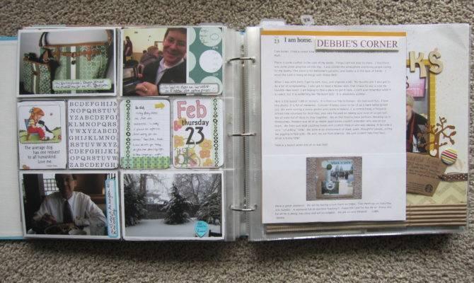 Project Life Scrapbook Layouts Debbie Corner