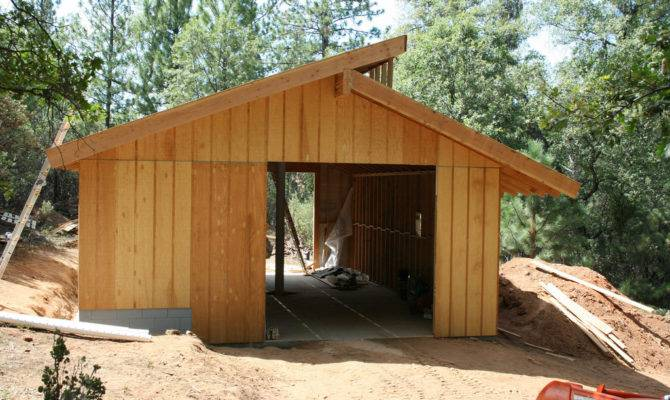 Project Plans Home Building Clerestory Shed