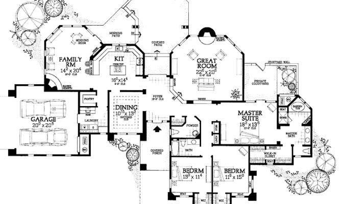 Pueblo Style Architecture Hmaffdw Adobe House Plan