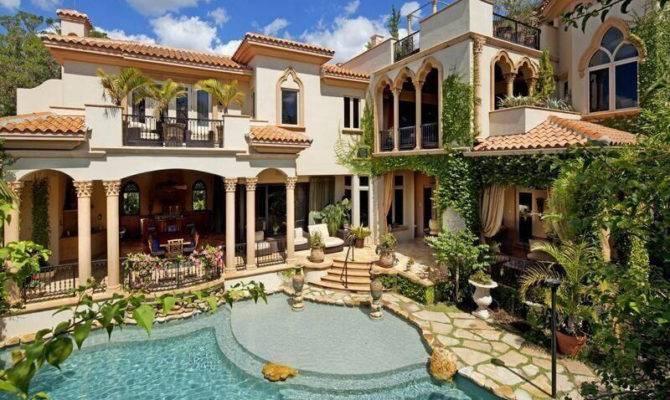 Pueblo Style House Pool Pools Pinterest