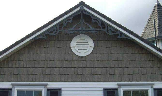 Put Shake Accents Above Siding Custom Made Gable Accent