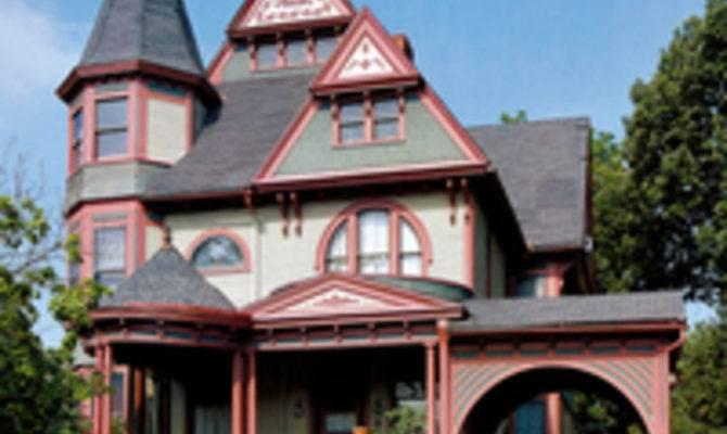 Queen Anne Victorian Architecture Cor Old