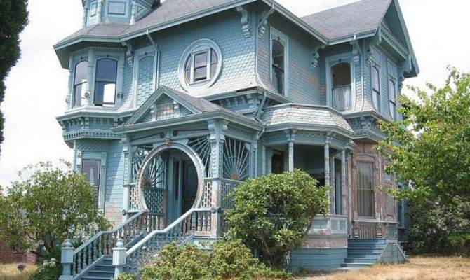 Queen Anne Victorian Houses Colors House Style Design