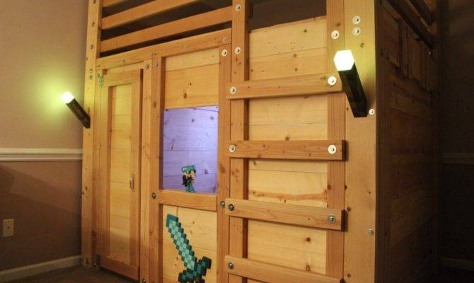 Queen Cabin Bed Plan Palmetto Bunk Beds