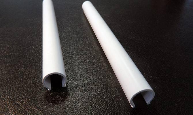 Radiator Accessories White Snap Pipe Sleeves Diameter