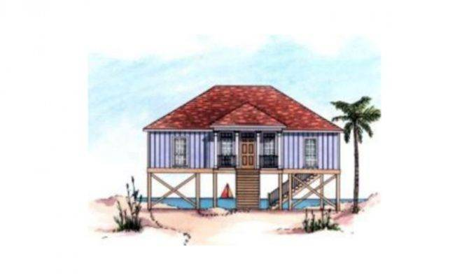 Raised Beach House Floor Plans Engineered