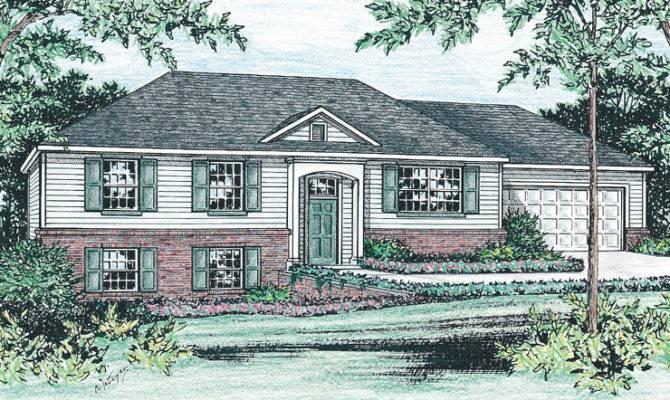 Raised Ranch Home Plan Joy Studio Design Best