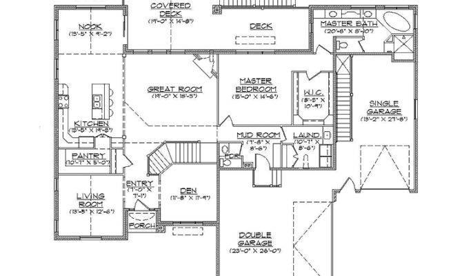 Rambler House Plans Basement Plan