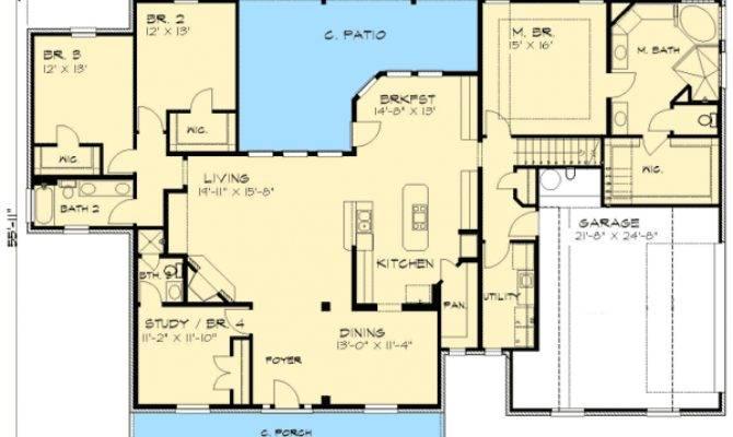 Rambling Ranch Home Plan Architectural Designs