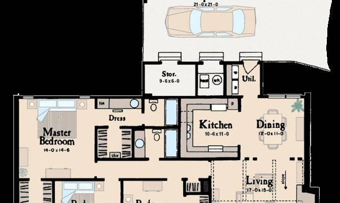 Ranch Design Ideal Starter Home