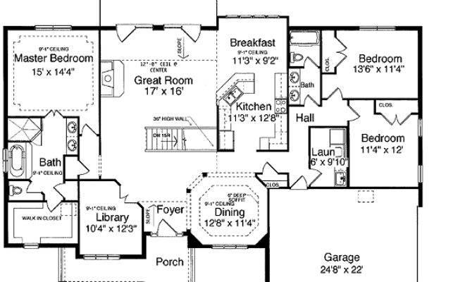 Ranch Finished Basement House Plans Design
