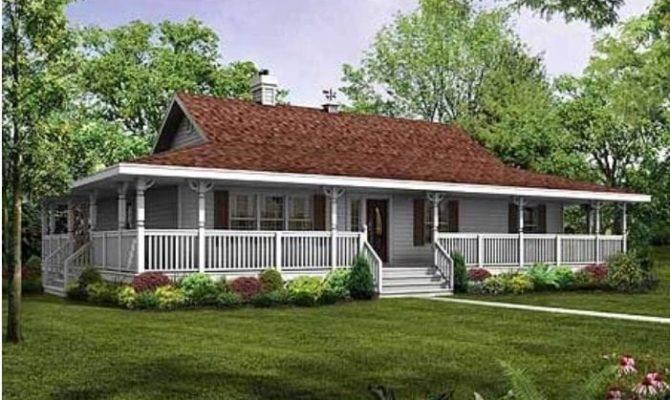 Ranch Floor Plans Wrap Around Porch