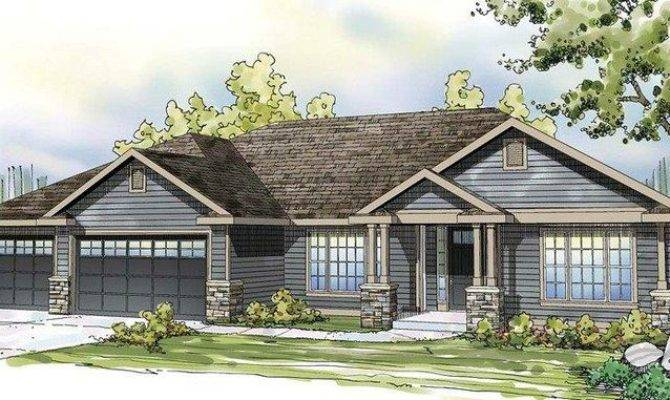 Ranch Home Curb Appeal House Plans Pinterest