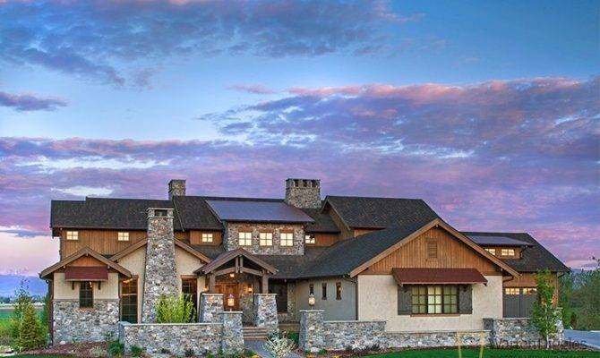 Ranch Home Exteriors Colorado Luxury Exterior Sunrise