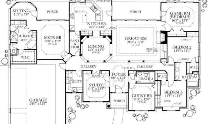 Ranch Home Feng Shui Design Plan Interior