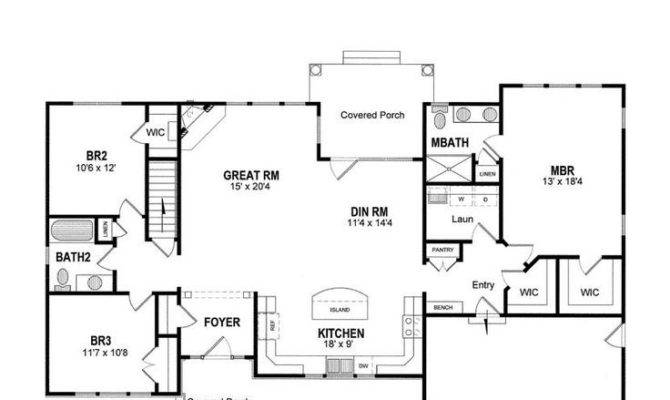 Ranch Home Floor Plans Luxury Best Style